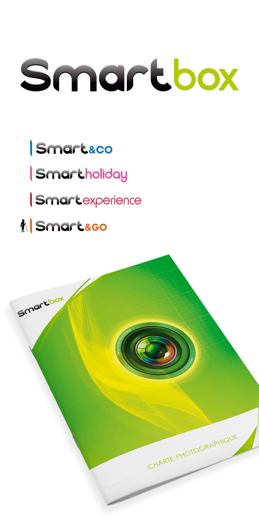 Identité visuelle de Smartbox le leader européen des coffrets cadeaux