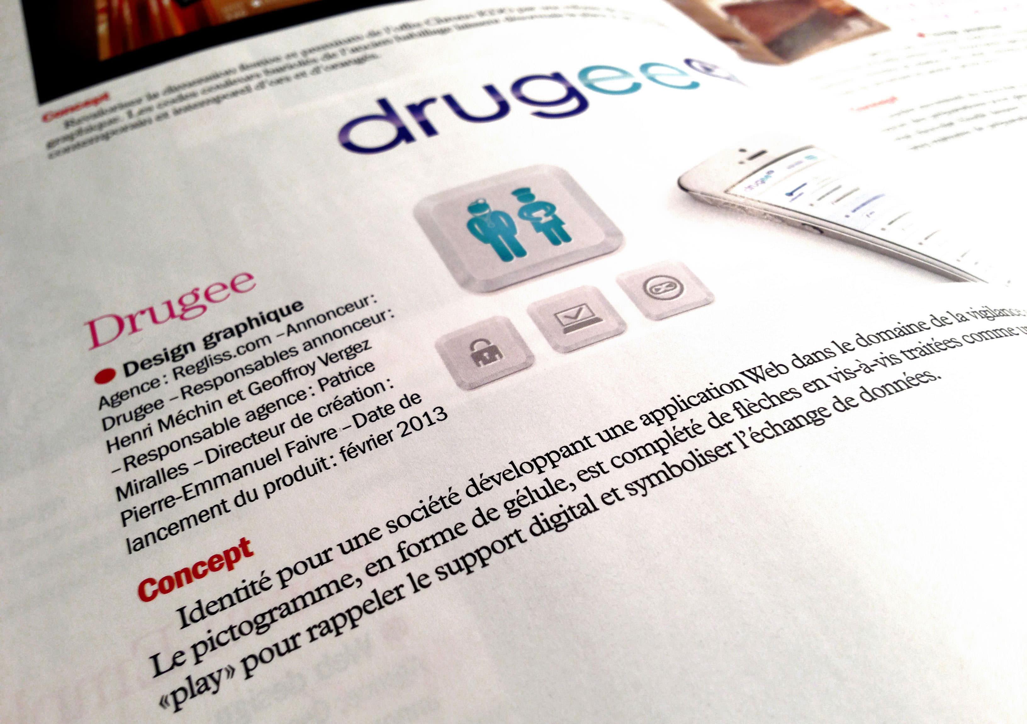 Guide Stratégies du Design 2014, une création Regliss.com pour Drugee