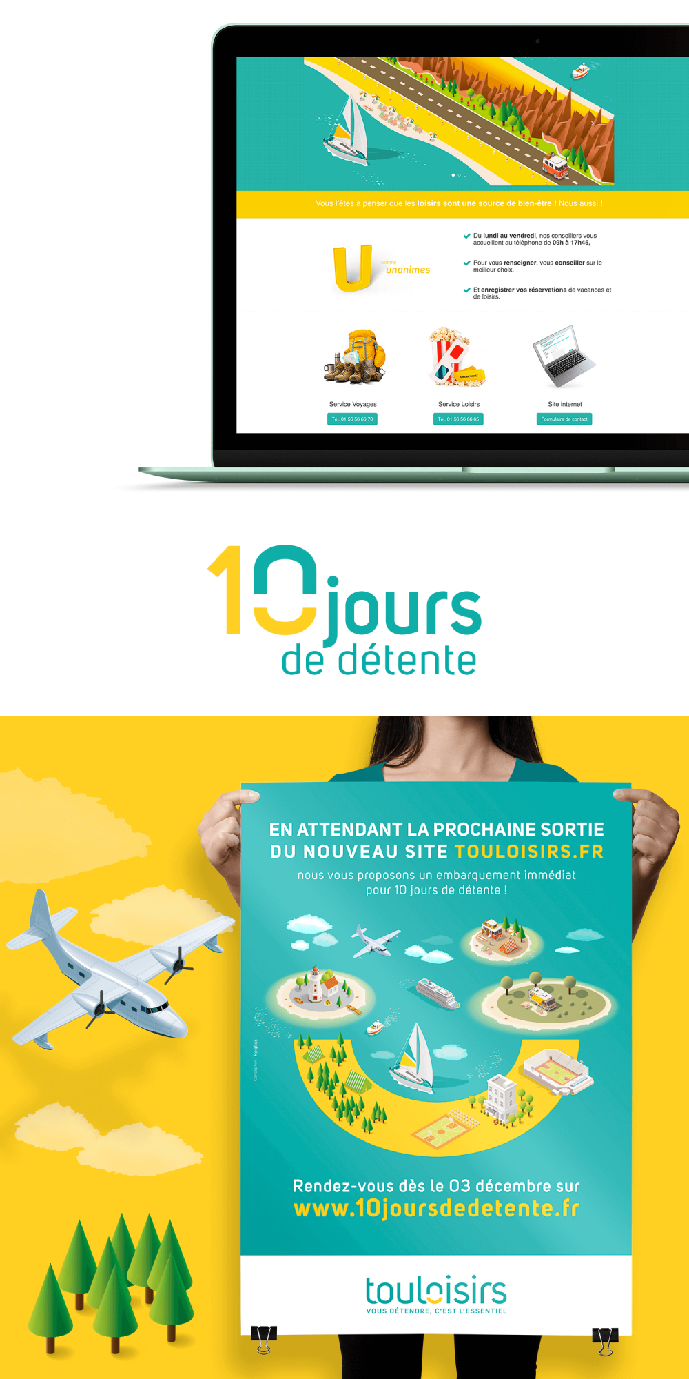 Campagne événementielle pour Touloisirs