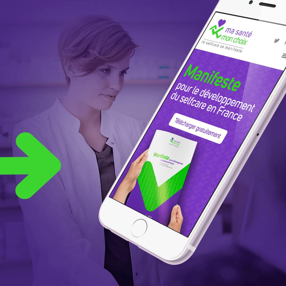 Afipa - Site internet du Manifeste pour le développement du selfcare en France