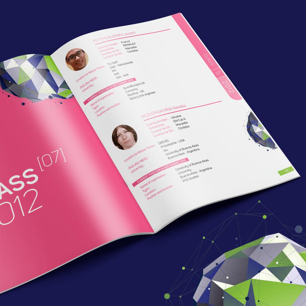 M.E.S.C annuaire des étudiants pour les 10 ans du cursus