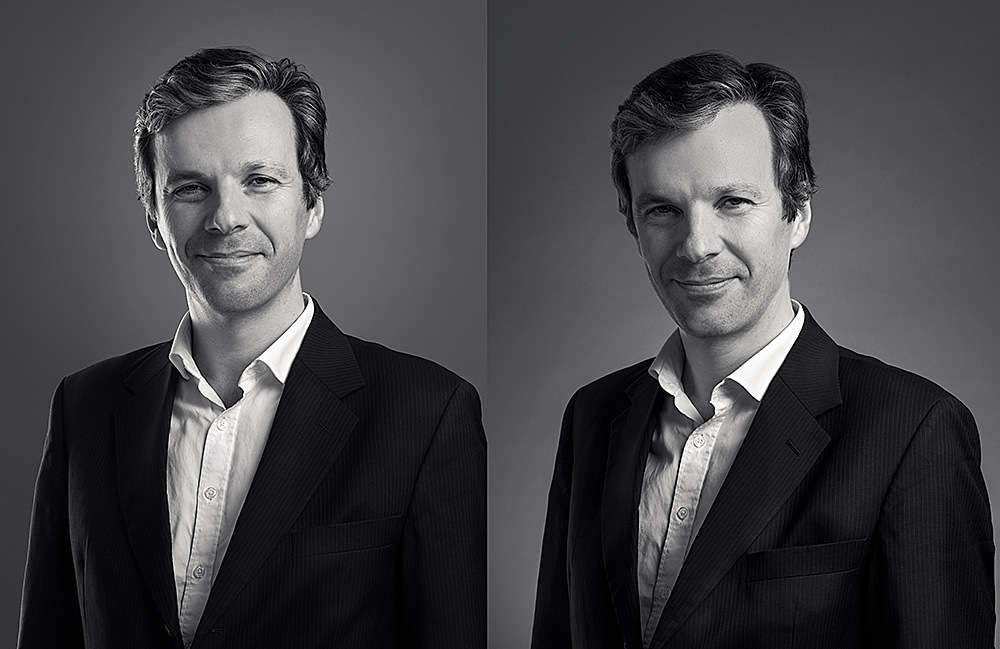 Charles Van Haecke, portrait corporate